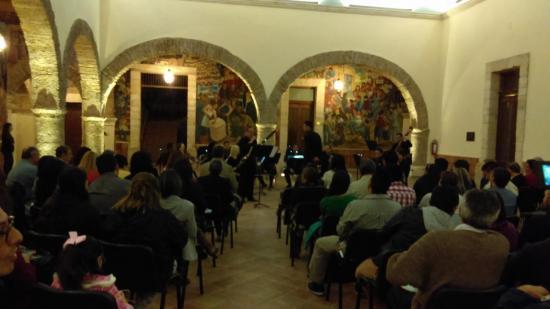 En soliste avec l'orchestre  de  Saltillo