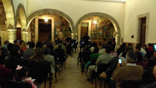 avec l'orchestre d e Saltillo au  Mexique- 27 octobre 2016